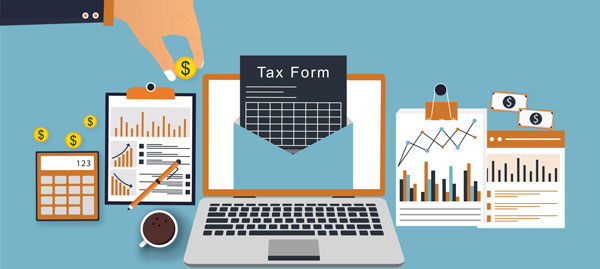 Tax Form, Tax, Calculator, Icon, Finance